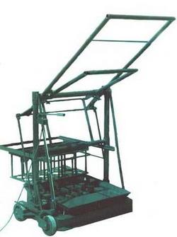 Станок производства изготовления шлакоблоков