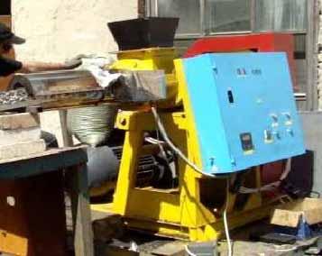 Экструдер топливные брикеты