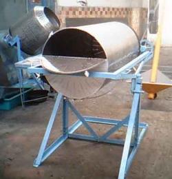 Печь газовая барабанная для обжарки сыпучих