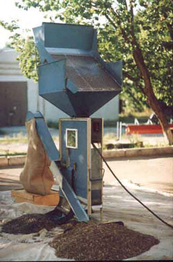 Зерноочистная машина