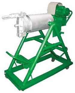 Установка для взрыва зерна производства попкорна воздушного риса