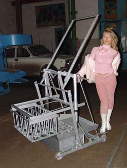 Оборудование для производства шлакоблоков