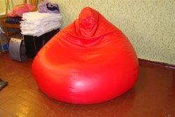 Кресло-мешок из кожзаменителя