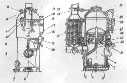 Паровой котел типа РИ-5М
