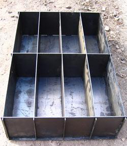 Форма для заливки блоков из полистиролбетона - пеноблоков