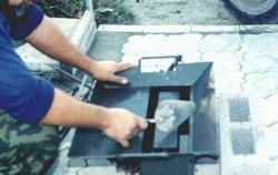 Установка малогабаритная изготовления шлакоблоков