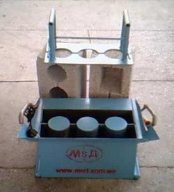 Оборудование для производства строительных блоков шлакоблоков