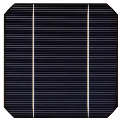 Монокристаллический солнечный элемент батареи