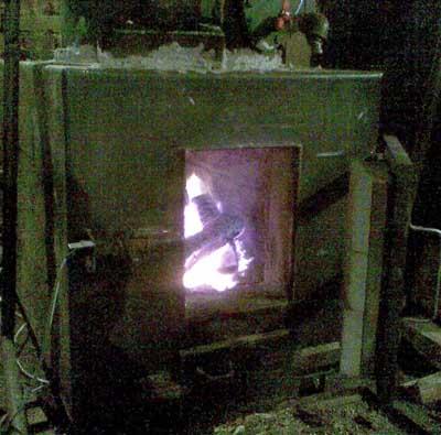 Фото газогенератора на дровах