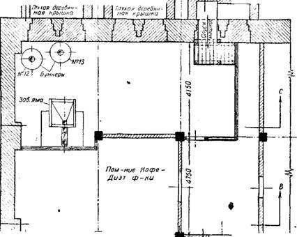 Лист і - План подвального этажа завода кукурузных хлопьев на 1 линию.