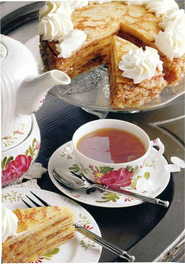 Открытки тортики к чаю