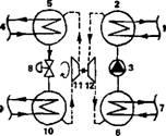"""...работающей по термодинамическому циклу Ренкина """" либо  """"компрессорной холодильной машиной с использованием..."""