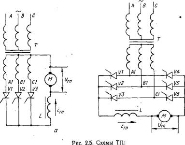 Схема тиристорного преобразователя напряжения фото 926
