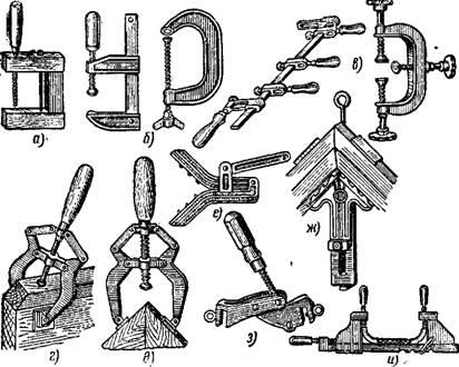 Ваймы столярные механические своими руками чертежи