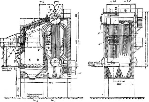 Вертикально-водотрубные котлы