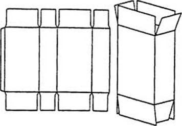 Как сделать коробок для сигарет 330