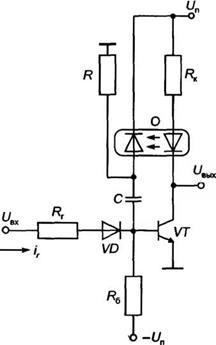 Схема оптоэлектроники