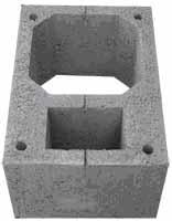 дымоходы -  стеновые блоки - оборудование