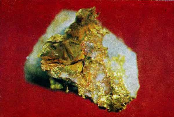 как выглядит самородоное золото