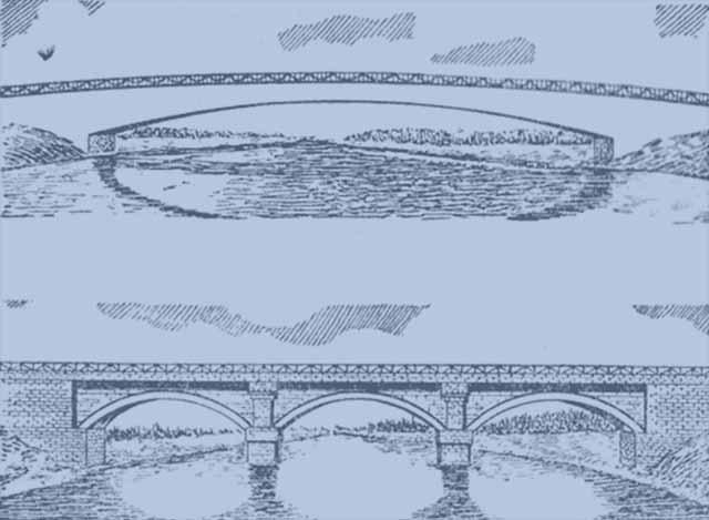 мост из естественного камня