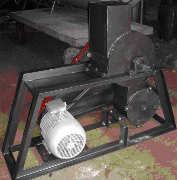 Роторная дробилка для камня своими руками 38