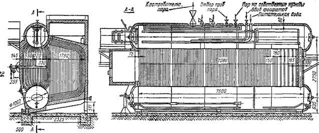 Паровой котел ДЕ-25-І4ГМ.