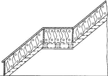 Т-образная лестница на мансарду