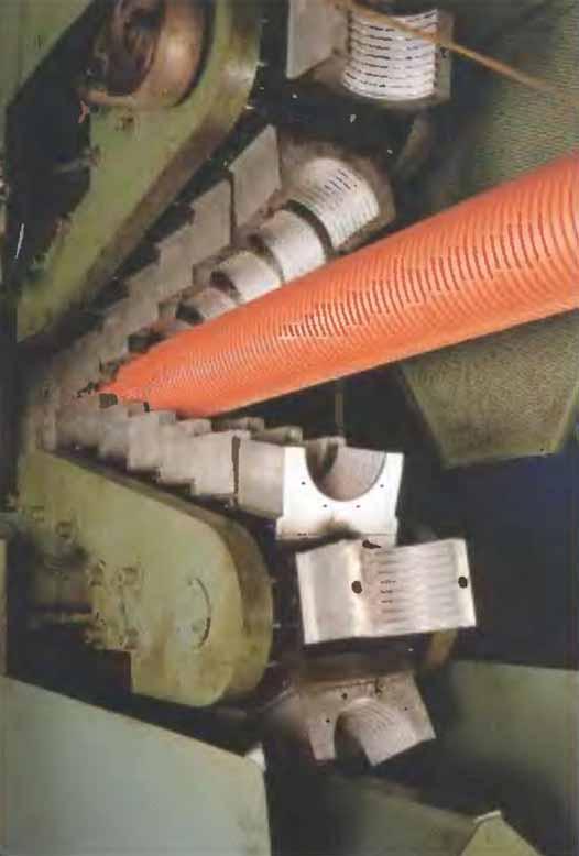 Оборудование для изготовления гофрированных труб