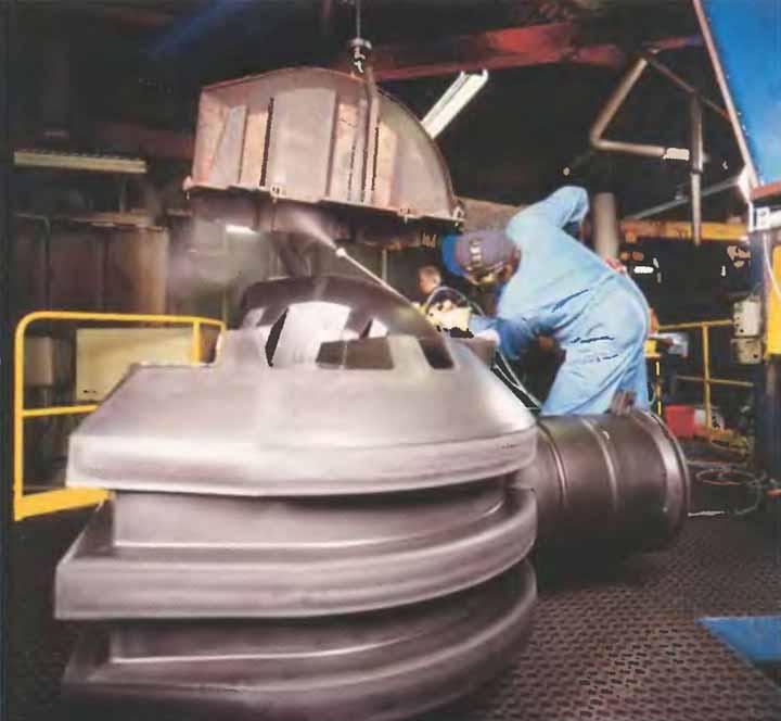 Производство фасонных частей
