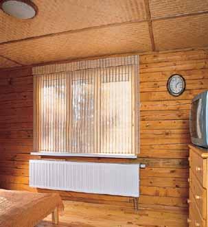 Низкотемпературные радиаторы с большой площадью теплоотдачи