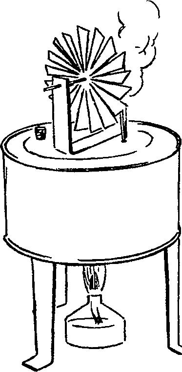 схема модели паровой турбины