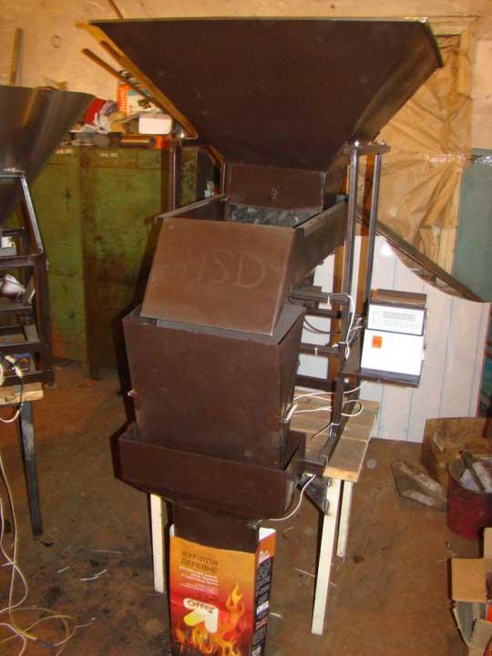 оборудование для упаковки древесного угля