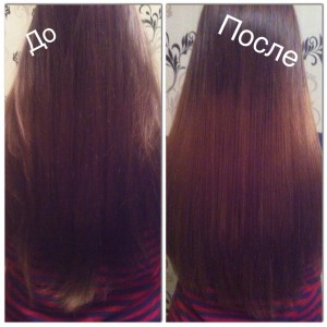 Брондирование темных волос с плавным переходом
