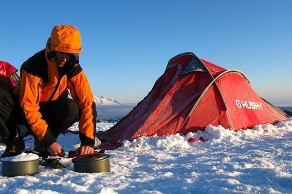 палатка для альпиниста