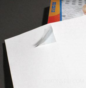 Самоклеящаяся бумага для принтера: для чего нужна и как выбирать