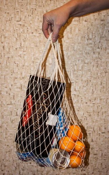 Авоська - эко-сумка плетенная