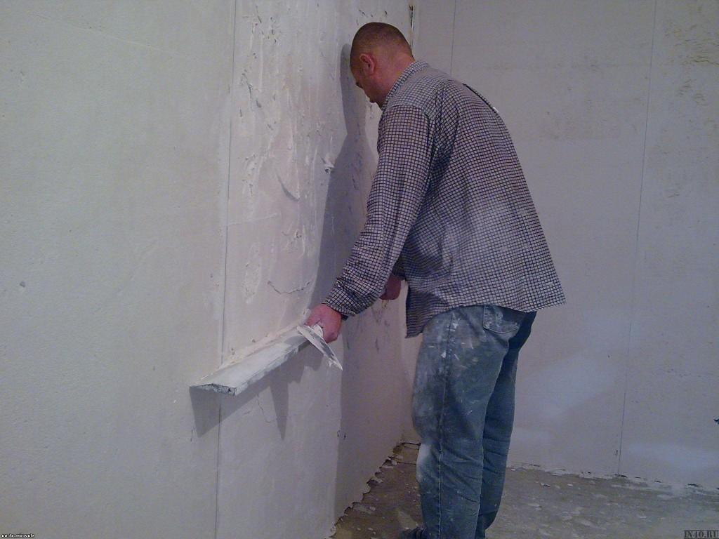 Как выравниваются стены в квартире