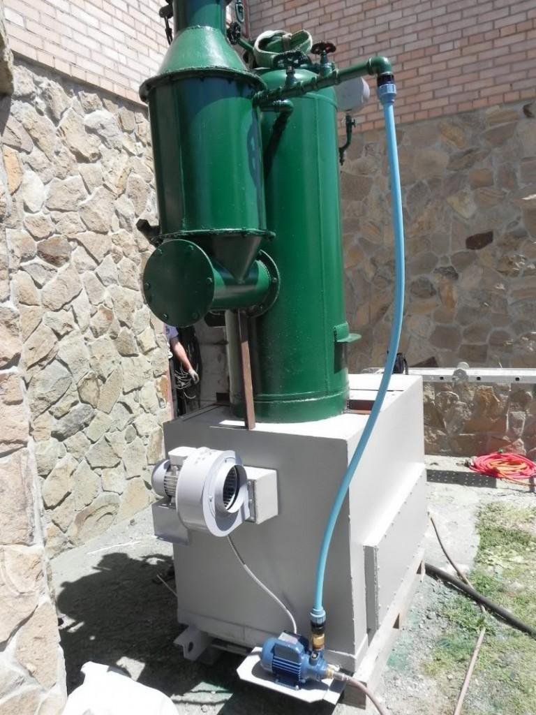 РИ-1 РИ1 парогенератор на дожигателе с автоматикой