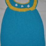 Детское платье ручной работы.