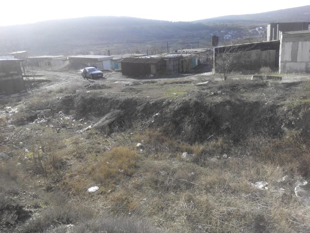 гаражный участок в Феодосии