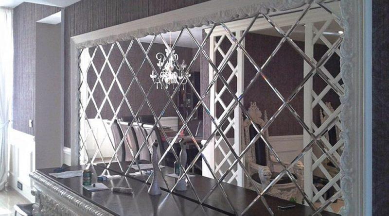 Преимущества зеркальной плитки при оформлении интерьера