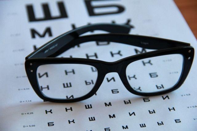 Проверка зрения детей