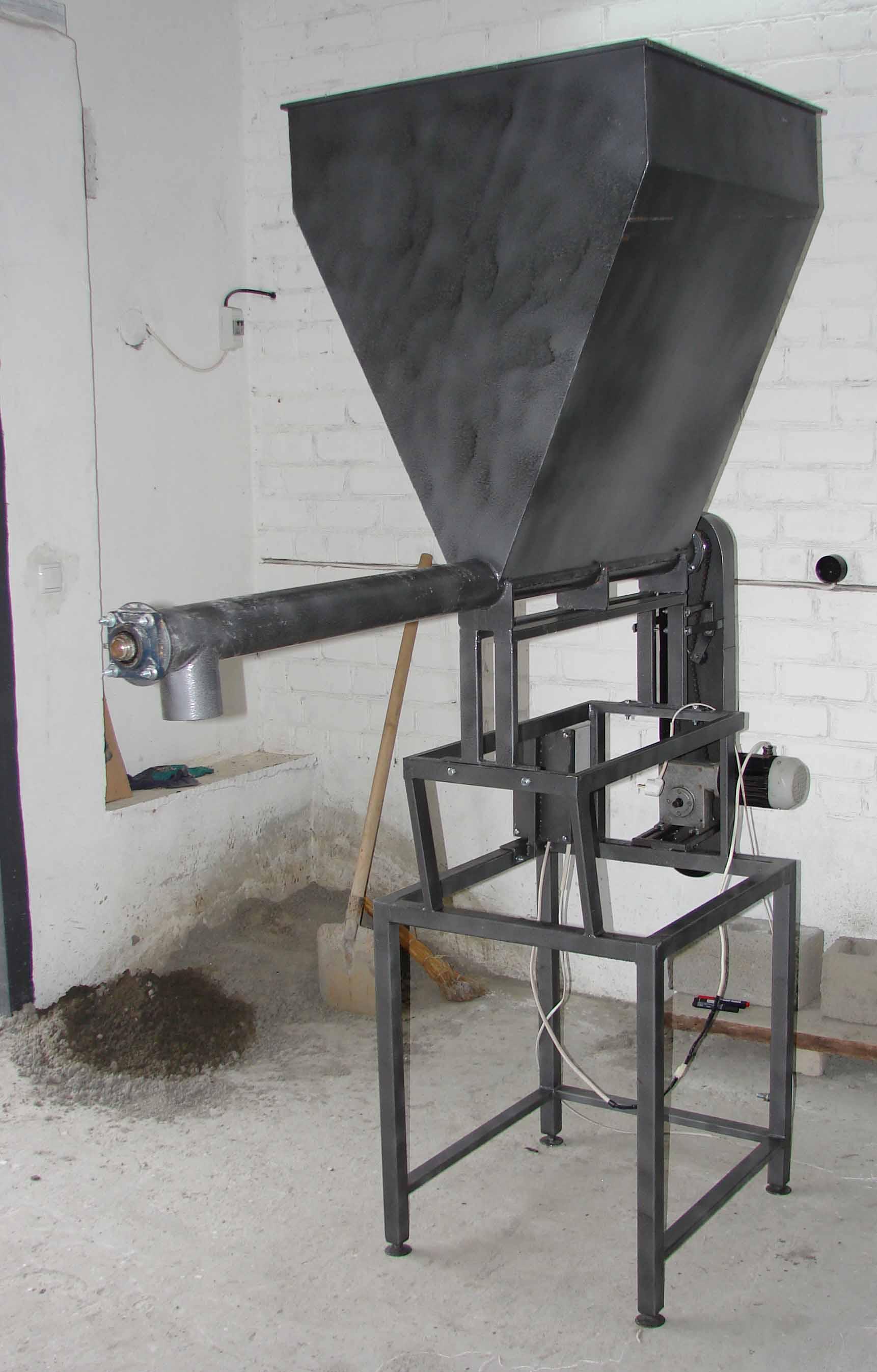 Дозатор для бетона своими руками