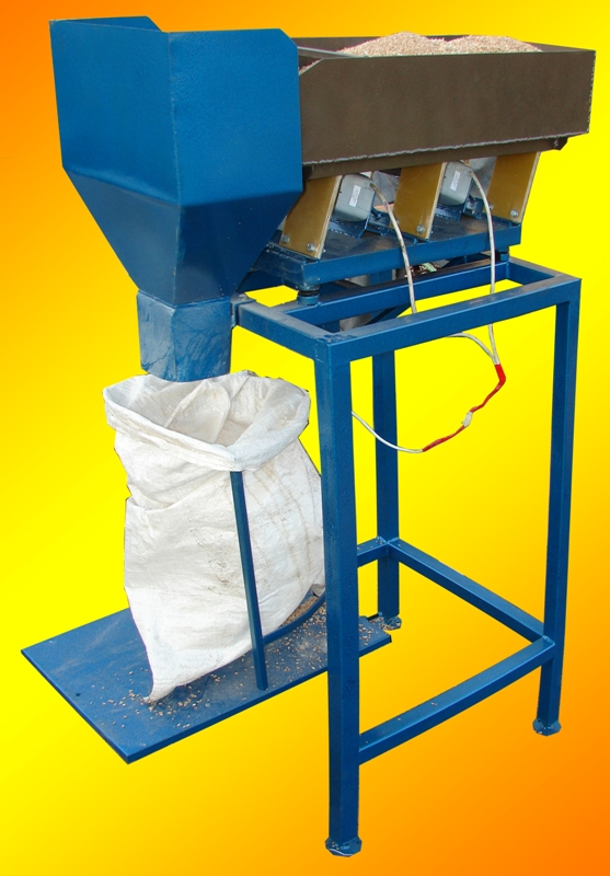 весовой дозатор для фасовки сыпучих материалов