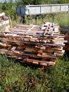 дрова и отходы древесины