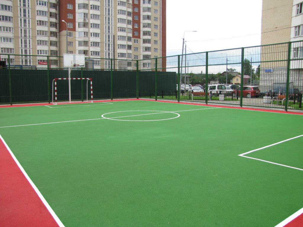резиновое бесшовное покрытие корта теннисного и минифутбола