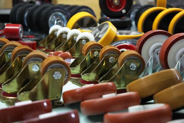 разновидности промышленных колес