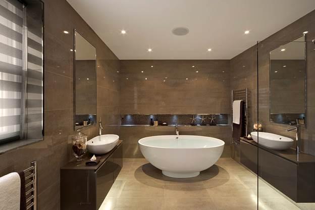 мебель в современную ванную