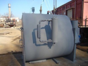 газовый парогенератор теплоообменик