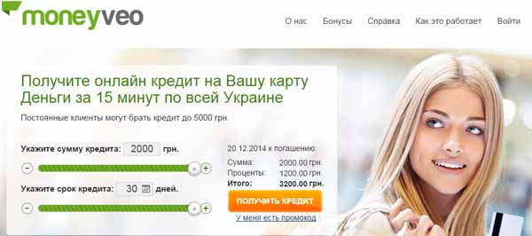 быстрое кредитование в Украине